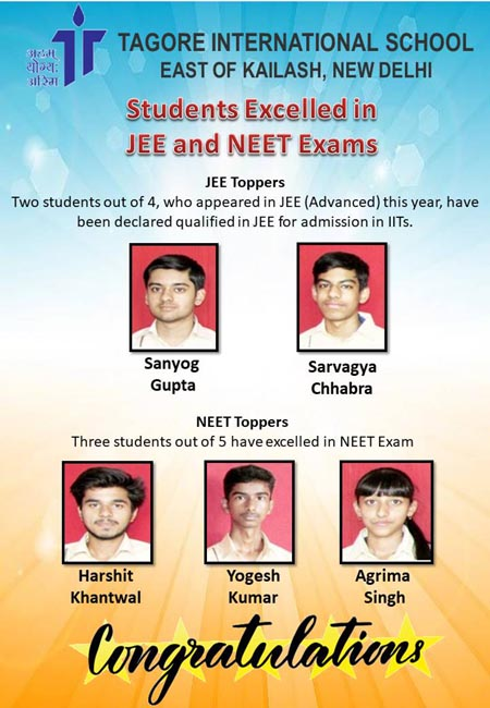 Students qualified for JEE and NEET