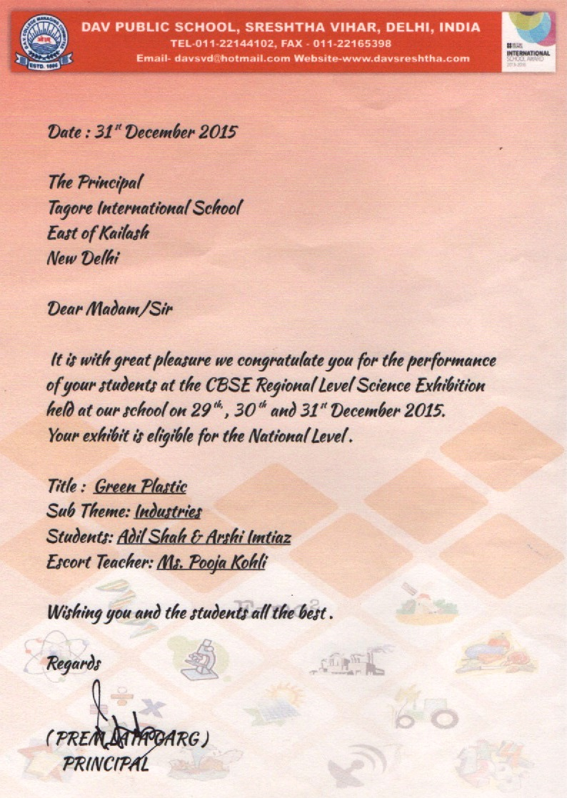 tagore international school east of kailash holiday homework 2015-16