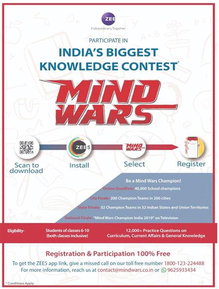 Mind Wars, a unique knowledge development programme for